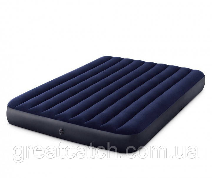 Надувной матрас Intex  Двухместный 152 х 203 х 25 см