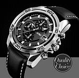 Мужские спортивные кварцевые часы Skmei Avalon Black 9156, фото 5