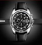Мужские спортивные кварцевые часы Skmei Avalon Black 9156, фото 7