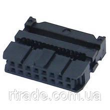 Роз'єм IDC2-16, 16 pin, для плоского шлейфу