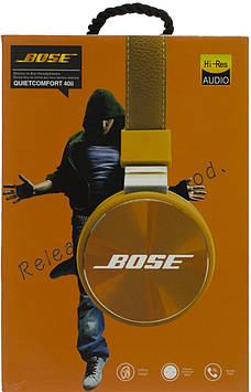 Навушники Bose ST40i-Bose (bluetooth+stereo+mp3-player+гарнітура) black безпровідні