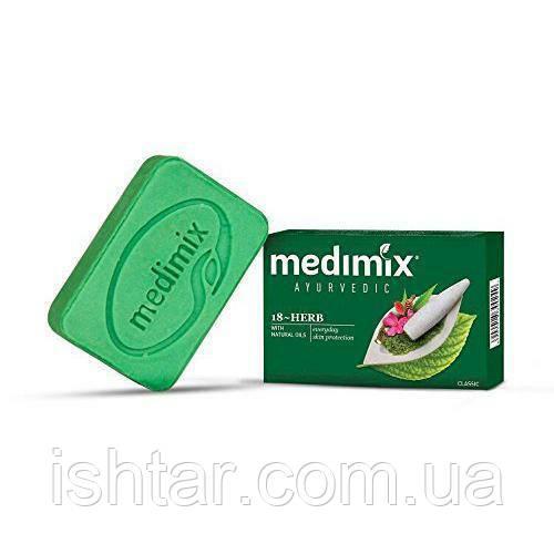 Аюрведическое мыло Медимикс 18 трав/Soap Medimix 18 herbs, 125г