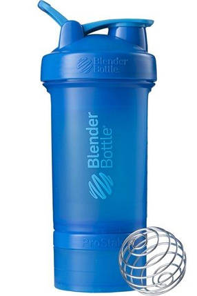 Шейкер спортивный BlenderBottle ProStak 650ml с 2-мя контейнерами Cyan SKL24-144866, фото 2