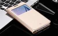 Золотая книжечка для Samsung Galaxy S6