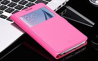 Розовая книжечка для Samsung Galaxy S6