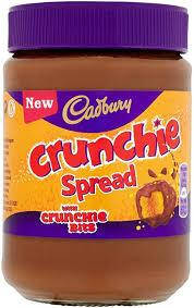 Cadbury Crunchie Spread with Crunchie Bits 400g, фото 2