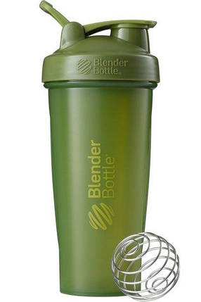 Шейкер спортивный BlenderBottle Classic Loop 820ml Moss Green SKL24-144962, фото 2