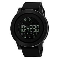 Skmei 1255 innovation чорні спортивні смарт годинники чоловічі