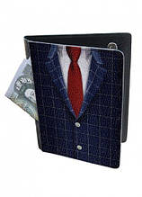 Холдер-паспорт DM 01 Галстук разноцветный SKL47-177083