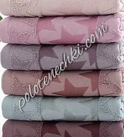 Махровое кухонное полотенце Звезды, фото 1