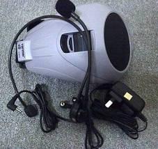 Мегафон (рупор,микрофон) на пояс для экскурсовода, тренеров K-8300 с USB и MP3., фото 2