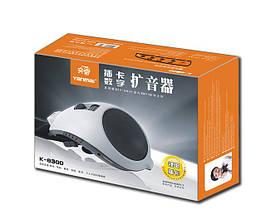 Мегафон (рупор,микрофон) на пояс для экскурсовода, тренеров K-8300 с USB и MP3., фото 3