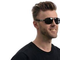 Мужские брендовые очки с поляризацией 10002b SKL26-146456, фото 3