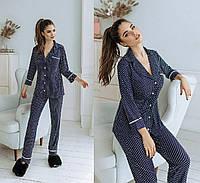 Женская трикотажная пижама.Размеры42/44,46/48.+Цвета, фото 1