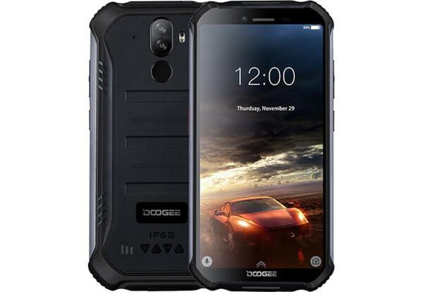 Защищенный смартфон Doogee S40 PRO 4\64GB Black NFC Mediatek MT6726D 4650 мАч