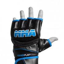 Рукавички для Mma 3055 Чорно-Сині L SKL24-144401, фото 3