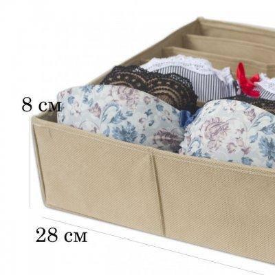 Коробочка для бюстиков Organize бежевый Beg-Bst SKL34-176184, фото 2