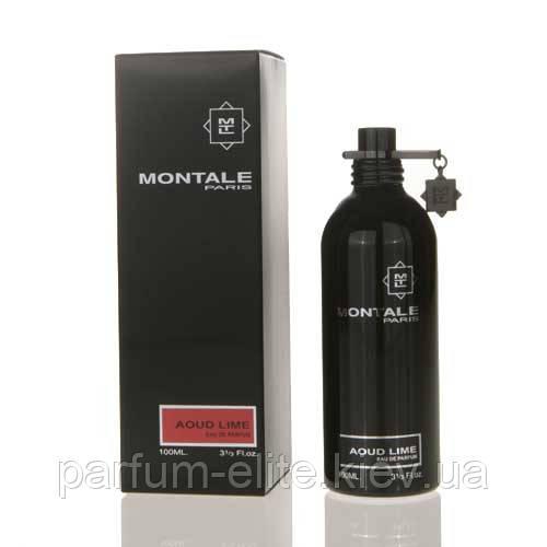 Парфюмированная вода унисекс Montale Aoud Lime 100ml