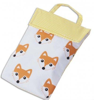 Кармашек для памперсов в сумку Organize лисички E003 SKL34-176311