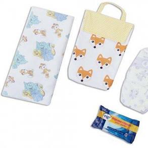 Кармашек для памперсов в сумку Organize лисички E003 SKL34-176311, фото 2
