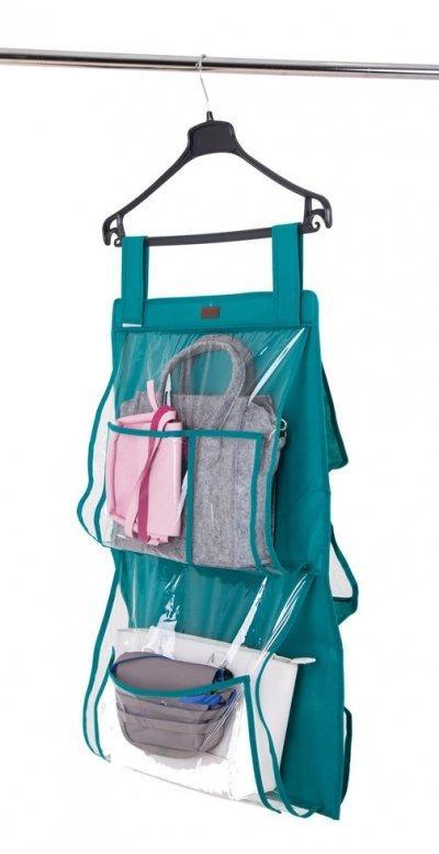 Подвесной органайзер для хранения сумок Plus Organize лазурь HBag-PlusSKL34-176319