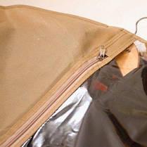 Чехол, кофр для одежды 60х150 см Organize бежевый HCh-150 SKL34-176331, фото 2