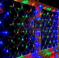 Гірлянда електрична штора 3*2 метра 320 лампочок LED