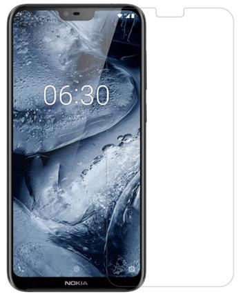 Гидрогелевая защитная пленка на Nokia X6 на весь экран прозрачная, фото 2