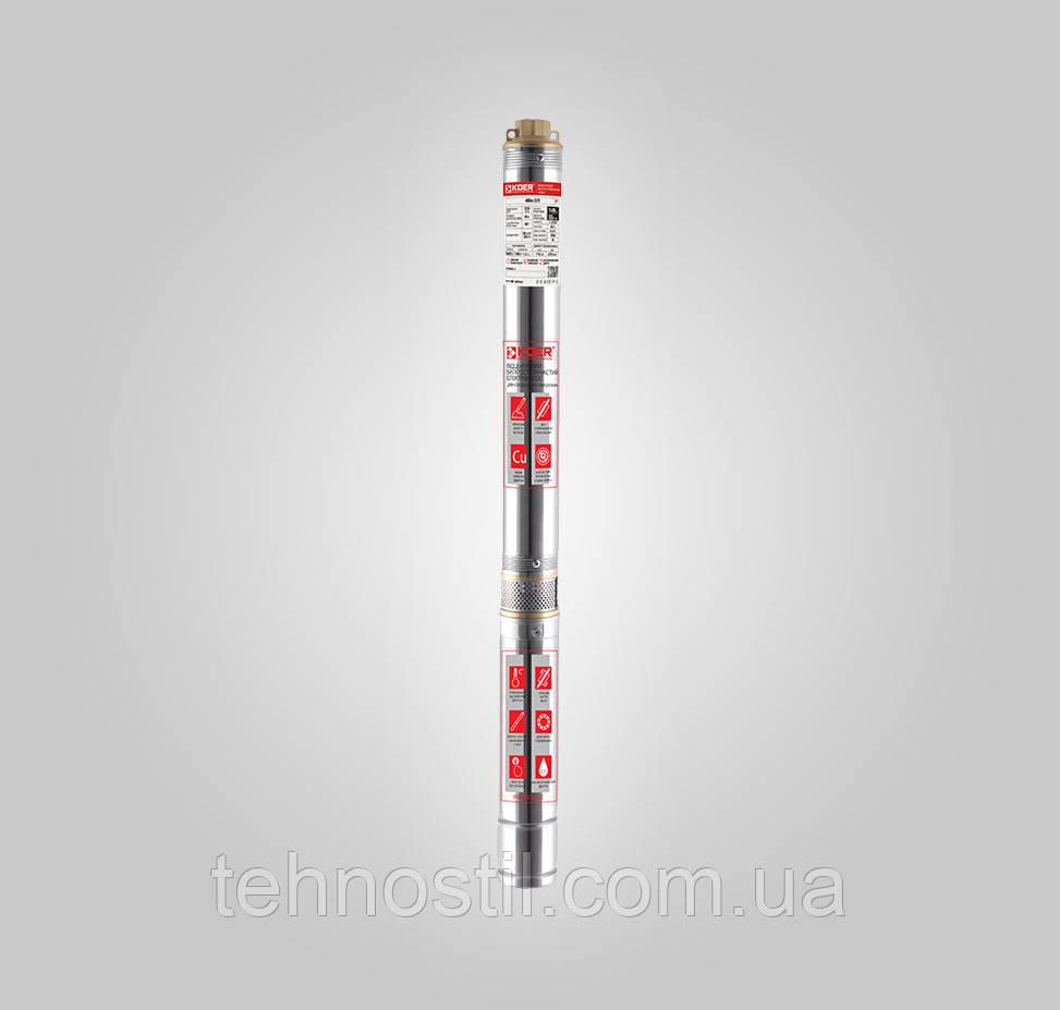 KOER 4SDM2/37 Насос скважинный центробежный (3.3 м³, 262 м, 2.2 кВт)