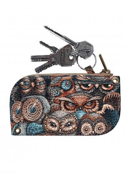 Ключница DM 01 Совы разноцветная SKL47-176580