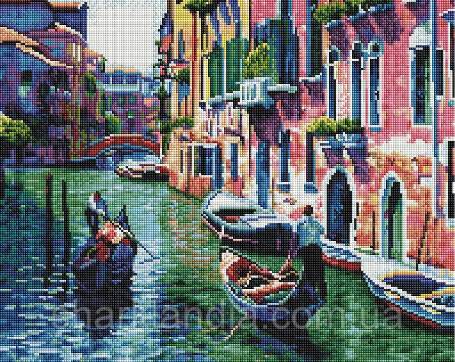 По каналам Венеции Алмазная мозаика