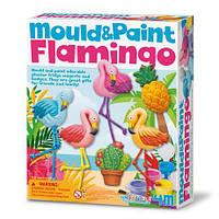 Набор для творчества 4M Магниты из гипса Фламинго (00-04736), фото 1