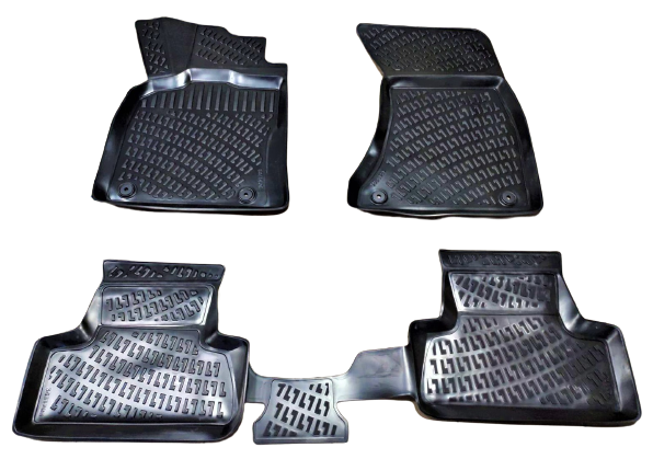 Килимки автомобільні в салон RIZLINE для AUDI Q5 2008-2015  S-0143