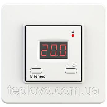 Терморегулятор цифровой terneo st (белый) для теплого пола