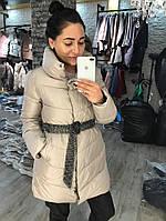 Пальто женское плащевка