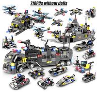 Лего, Конструктор полицейский участок 710шт! LEGO
