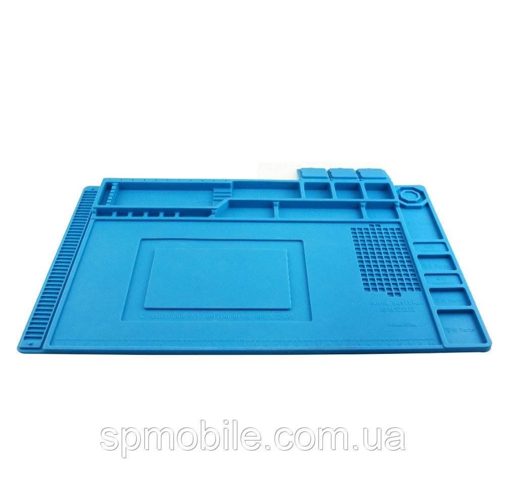 Коврик силиконовый для разборки и пайки телефона AIDA S-160 (450x300mm)