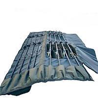 Чехол для карповых удилищ с катушками 145 см сумка карповая VA R-134