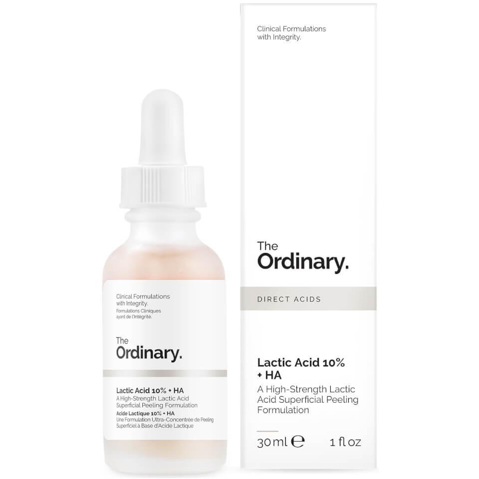 Сыворотка - пилинг с молочной кислотой  The Ordinary  Lactic Acid 10% + HA  30 мл