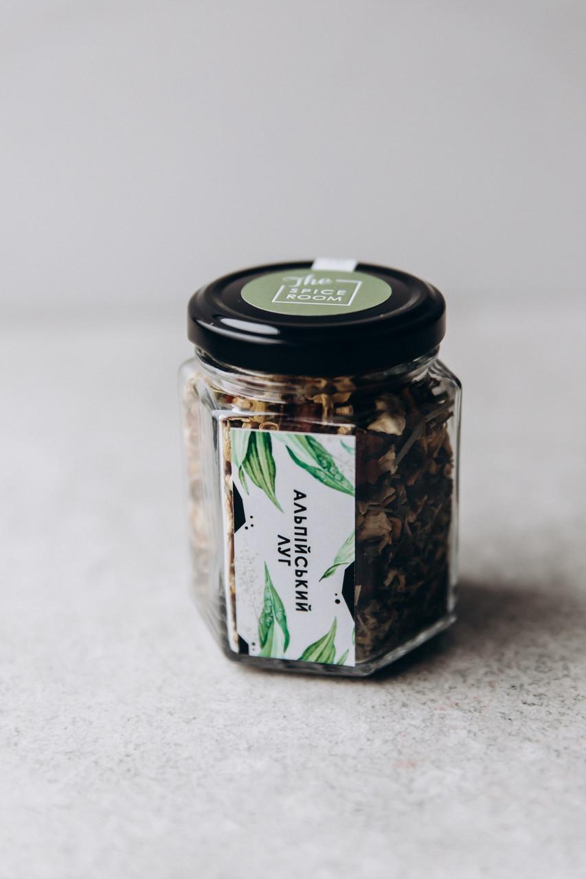 Чай травяной Альпийский луг, 40 г / стекло