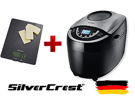 Хлебопечка SilverCrest SBB 850 C1  + Весы кухонные Silver Crest