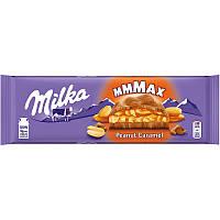 Шоколад молочный Milka Peanut Caramel 276г.