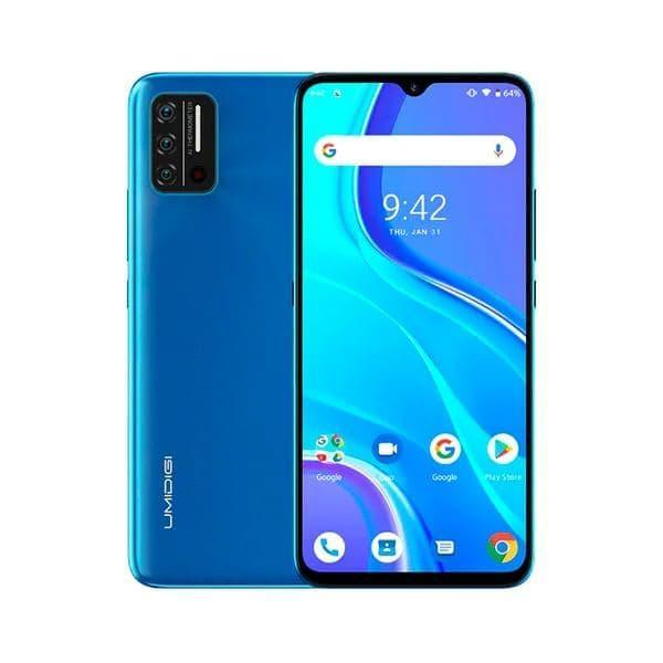 Смартфон UMIDIGI A7S 2/32Gb  Blue MediaTek MT6737 4150 мАч ВСТРОЕННЫЙ ТЕРМОМЕТР