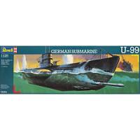 Сборная модель Revell Немецкая пдводная лодка U99 U-Boat 1:125 (5054)