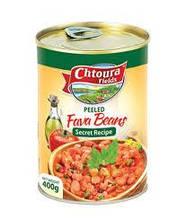 Бобы консервированные очищенные Chtoura 380 грамм