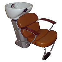 Мойка парикмахерская на станине из пластика с креслом и раковиной М00713, фото 1
