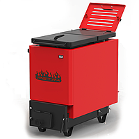 Котел твердотопливный Ретра-6М Red 21 кВт шахтный длительного горения