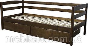 Односпальне ліжко Нота масив вільха, фото 2
