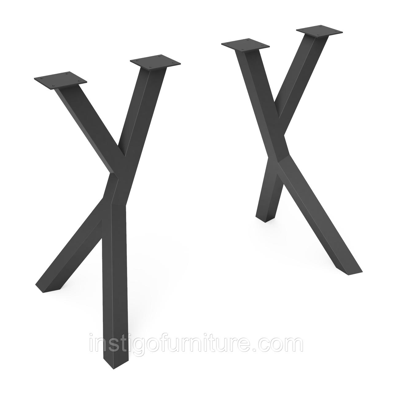 Ножка для стола из металла 500×378mm, H=730mm