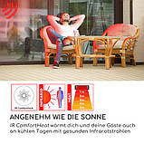 Вуличний інфрачервоний обігрівач на ніжці Blumfeldt ComfortHeat 900/1200/2100 Вт IP54 Німеччина УЦІНКА, фото 7